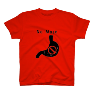 NoMoreアニサキス Tシャツ .png